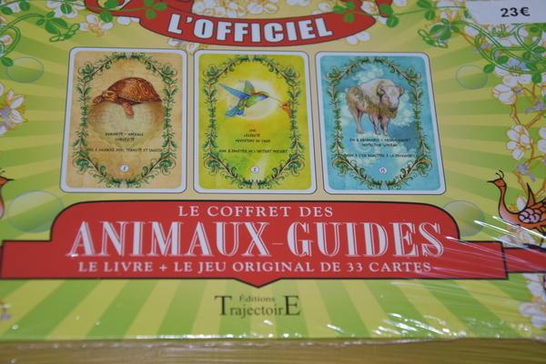 Animaux guides le livre +le jeu original de 33 cartes