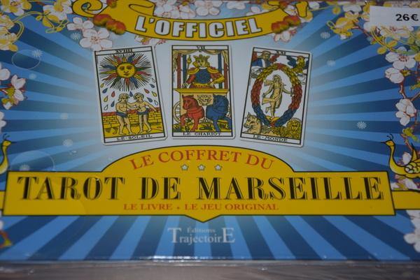 Tarot de Marseille le livre +jeu original